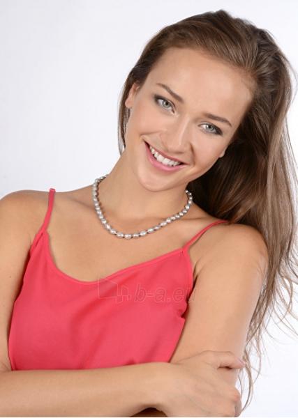 Kaklo papuošalas JwL Luxury Pearls A necklace of pearls šedostříbrných JL0067 Paveikslėlis 2 iš 2 310820126342
