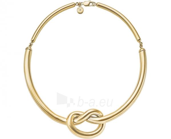 Kaklo papuošalas Michael Kors Pozlacený náhrdelník s uzlem MKJ4361710 Paveikslėlis 1 iš 3 30070303360