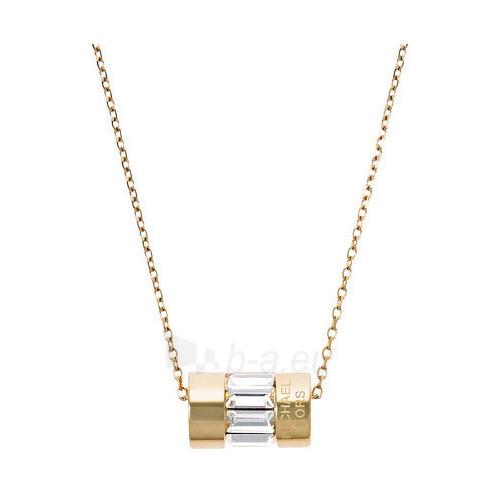 neck jewelry Michael Kors Jemný pozlacený z oceli MKJ4949710 Paveikslėlis 1 iš 2 310820001376