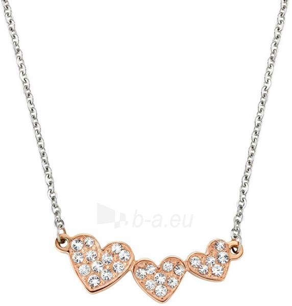 Kaklo papuošalas Morellato Ocelový bicolor náhrdelník se srdíčky I-Love SAEU02 Paveikslėlis 1 iš 2 310820000591