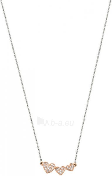 Kaklo papuošalas Morellato Ocelový bicolor náhrdelník se srdíčky I-Love SAEU02 Paveikslėlis 2 iš 2 310820000591