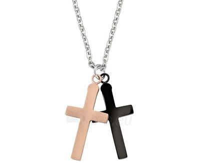 Kaklo papuošalas Morellato Pánský náhrdelník kříže Motown SAEV12 Paveikslėlis 1 iš 1 310820000595