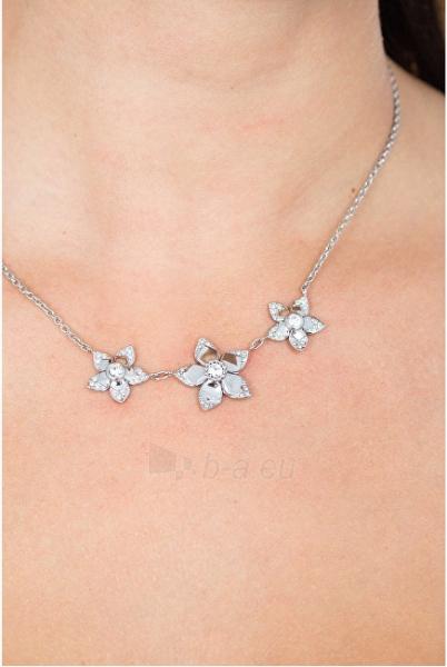 Kaklo papuošalas Morellato Steel necklace with flowers SAJR01 Paveikslėlis 3 iš 3 310820125521