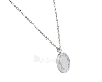 neck jewelry Scream Ocelový dámský náhrdelník s přívěskem SR305 Paveikslėlis 1 iš 1 310820002141
