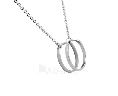 neck jewelry Scream Ocelový dámský náhrdelník s přívěskem SR556 Paveikslėlis 1 iš 1 310820002142