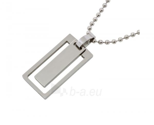 Kaklo papuošalas Scream Ocelový dámský náhrdelník s přívěskem SR559 Paveikslėlis 1 iš 1 310820002165