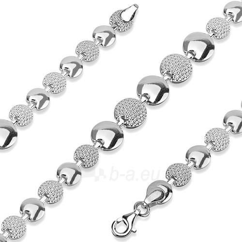 Kaklo papuošalas Silvego Stříbrný náhrdelník Luna stt-n009 Paveikslėlis 1 iš 2 310820000798