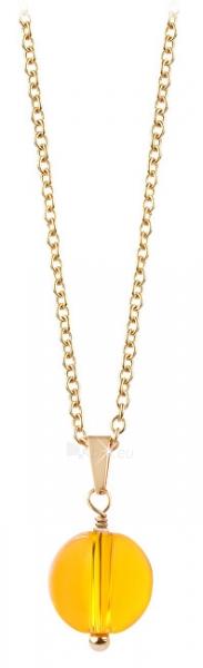 Kaklo papuošalas Troli Gold-plated necklace with citrine Paveikslėlis 1 iš 4 310820204393