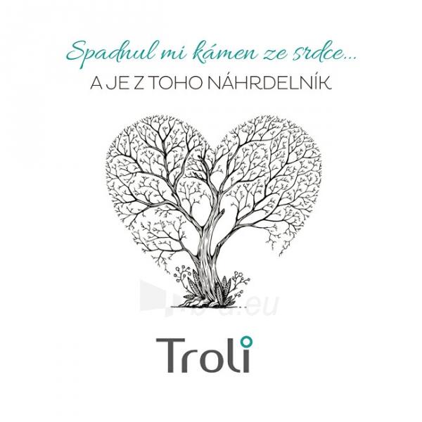 Kaklo papuošalas Troli Gold-plated necklace with green avanturine Paveikslėlis 3 iš 6 310820204398