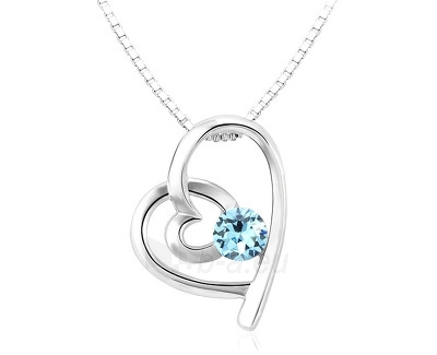 Kaklo papuošalas Vicca®  Spiral Heart Blue OI_107017_blue Paveikslėlis 1 iš 1 30070303263