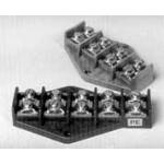 Kaladėlė sujungimo, PT 5x4mm2, Pak-Plast Paveikslėlis 1 iš 1 223801000125