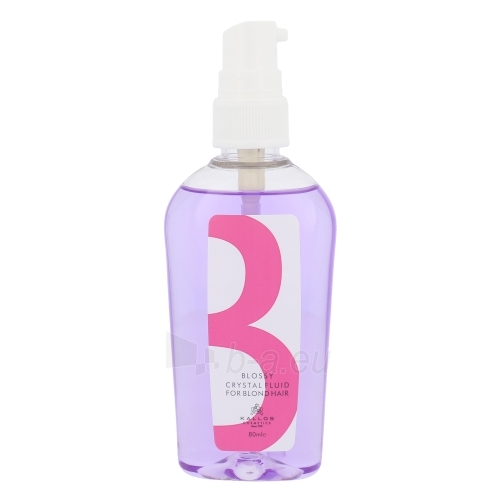 Kallos Blossy Crystal Fluid For Blond Hair Cosmetic 80ml Paveikslėlis 1 iš 1 250832400147