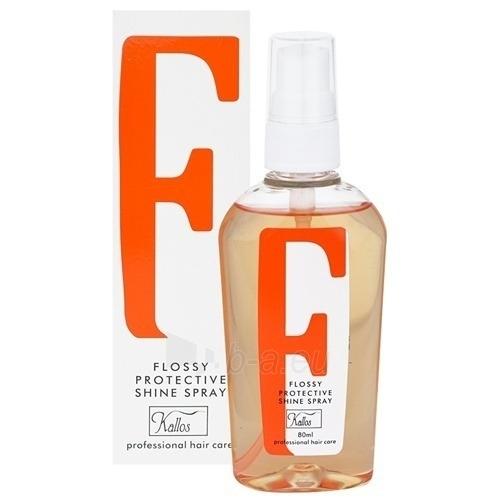 Kallos Flossy Protective Shine Spray Cosmetic 80ml Paveikslėlis 1 iš 1 250832400148