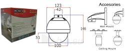 Kam.P-ISR PZ-325CS(4-9) 420TVL 4-9mm 3x Paveikslėlis 2 iš 2 250243100213