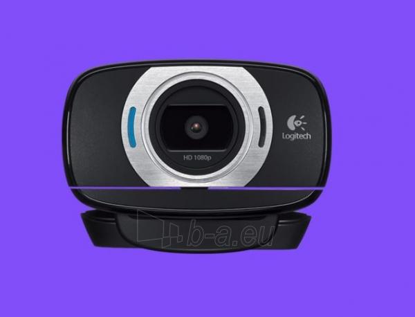 Kamera LOGI C615 HD Webcam USB black Paveikslėlis 1 iš 1 310820004348