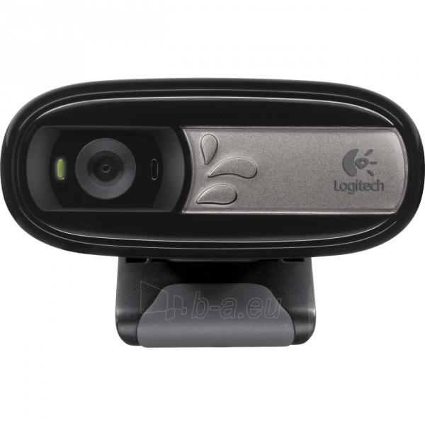 Kamera LOGITECH Webcam C170 BLACK USB EMEA Paveikslėlis 1 iš 1 310820004379