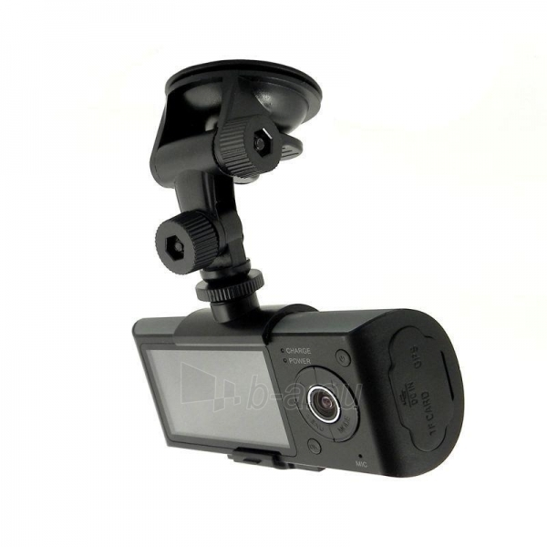 QOLTEC Car Recorder HD GPS, LCD 2.7, G-SENSOR Paveikslėlis 2 iš 2 250243100613