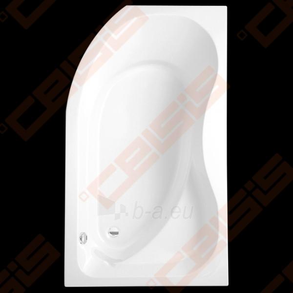 Kampinė asimetrinė vonia ROLTECHNIK ACTIVA 160x90 cm dešinė Paveikslėlis 1 iš 2 270716000965