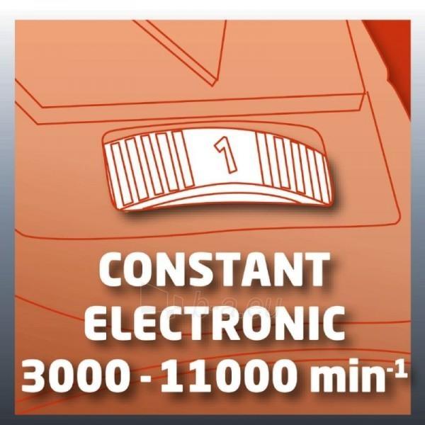 Kampinis šlifuoklis Einhell TE-AG 125 CE Paveikslėlis 10 iš 12 300431000222