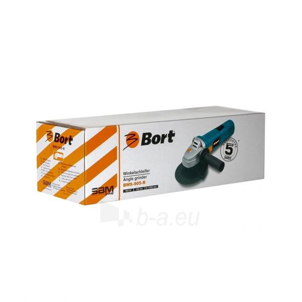Kampinis šlifuoklis ruguliuojamomis apsukomis BORT BWS-905-R Paveikslėlis 3 iš 3 310820193630