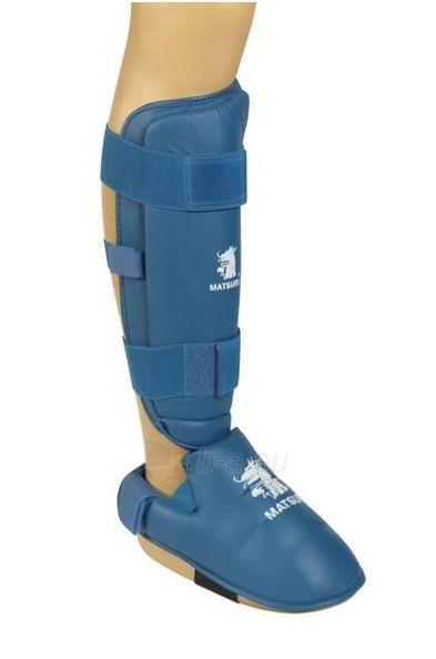 Karate apsauga blauzdai ir pėdai MATSURU XL dydis Paveikslėlis 1 iš 1 310820180508
