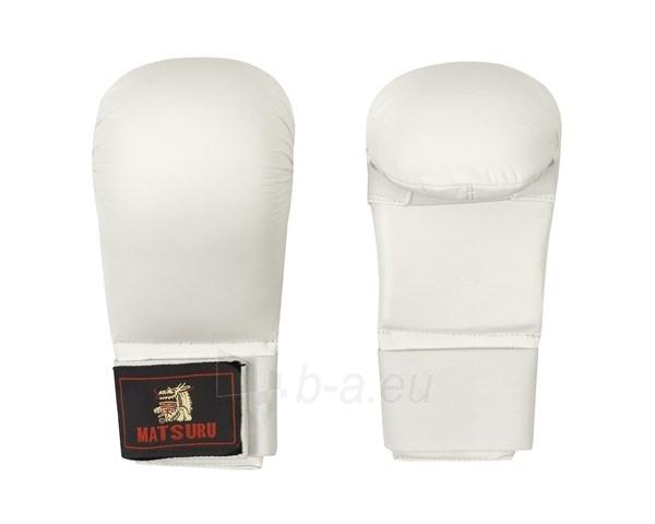 Karate pirštinės Matsuru, Baltos Paveikslėlis 1 iš 1 310820039679