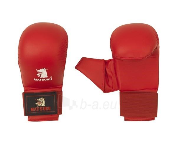 Karate pirštinės Matsuru, raudonos, S dydis Paveikslėlis 1 iš 1 310820040231