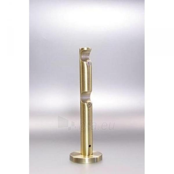 Karnizo laikiklis PROSTY 16 mm dvigubas sendinto aukso Paveikslėlis 1 iš 1 310820062374
