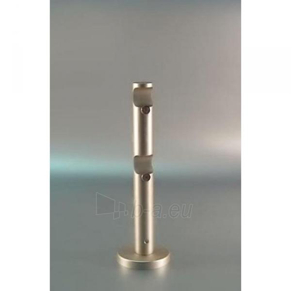 Karnizo laikiklis PROSTY 16mm dvigubas matinio sidabro Paveikslėlis 1 iš 1 310820062373