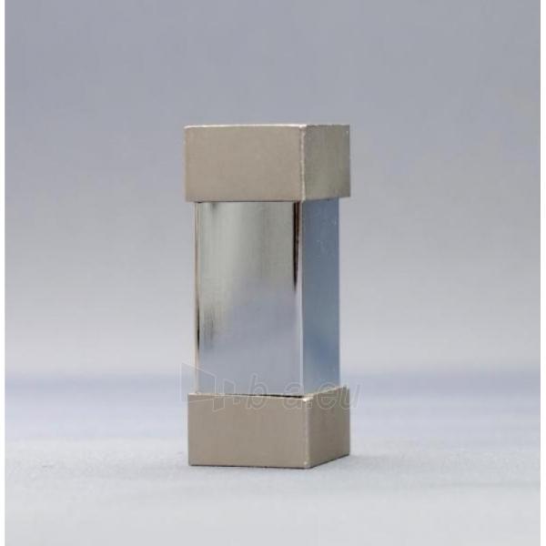 Karnizo užbaigimo detalė KWADRO 16mm matinio sidabro Paveikslėlis 1 iš 1 310820062396