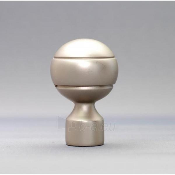 Karnizo užbaigimo detalė PAOLA 16 mm matinio sidabro Paveikslėlis 1 iš 1 310820062398