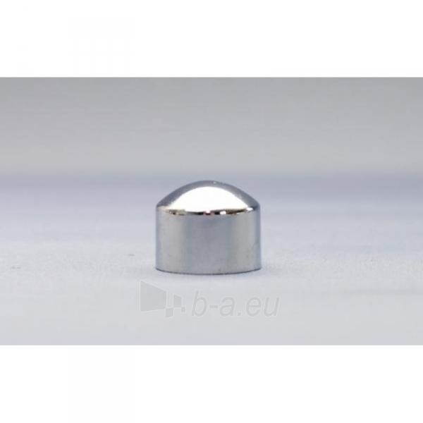 Karnizo užbaigimo detalė PICOLO 16 mm blizgaus sidabro Paveikslėlis 1 iš 1 310820062382