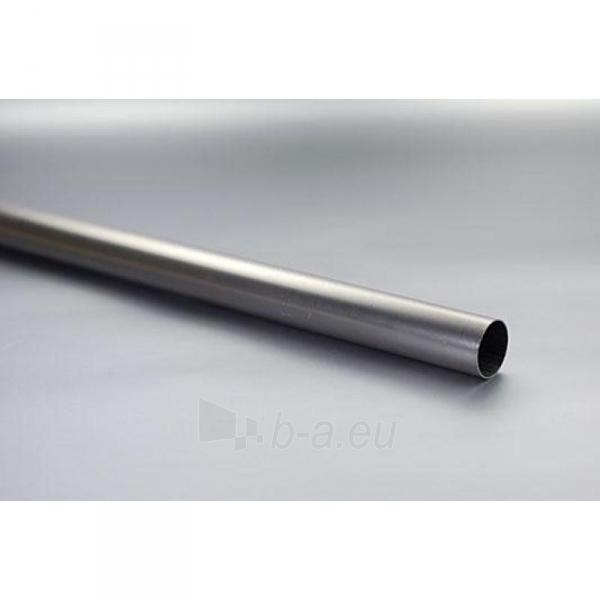 Karnizo vamzdis ELEGANC 2.4m 25mm šv. matinio sidabro Paveikslėlis 1 iš 1 310820062358