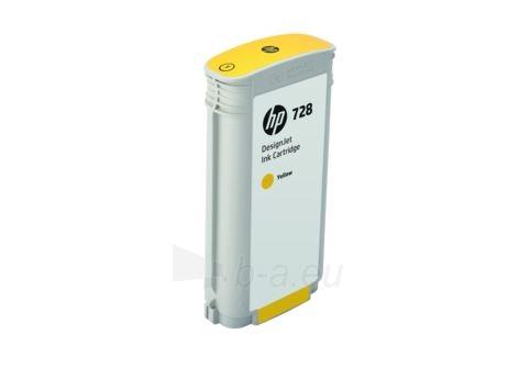 Kartridžas HP 728 130-ml Yellow Paveikslėlis 1 iš 1 310820027310