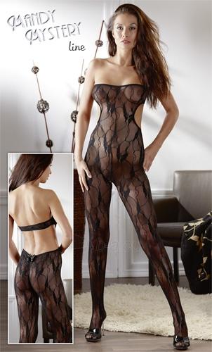 Katės kostiumas Tube Catsuit black S-L Paveikslėlis 1 iš 1 310820021691