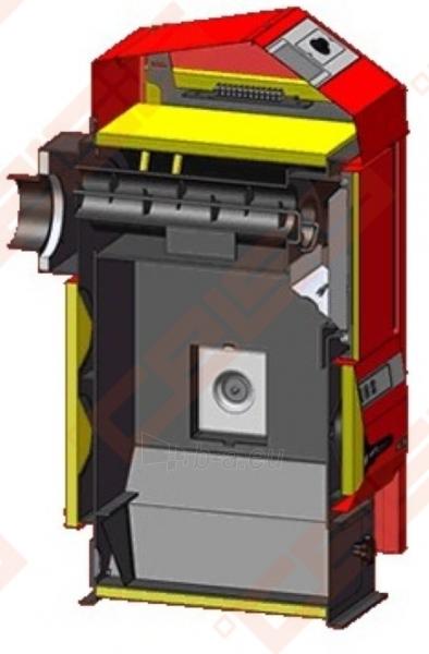 Katilas Atmos D25P; 7-24kW (tinka kūrenti tik medienos granulėmis) Paveikslėlis 3 iš 5 271321000085