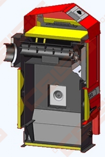 Katilas Atmos D31P; 9-30kW (tinka kūrenti tik medienos granulėmis) Paveikslėlis 2 iš 3 271321000087