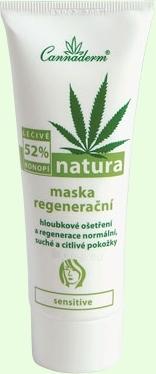 Mask Cannaderm Natura regeneration mask Cosmetic 75g Paveikslėlis 1 iš 1 250840500006