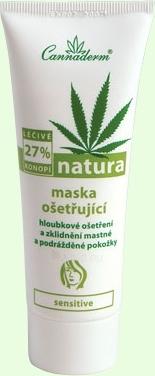 Mask Cannaderm Natura treating mask Cosmetic 75g Paveikslėlis 1 iš 1 250840500004