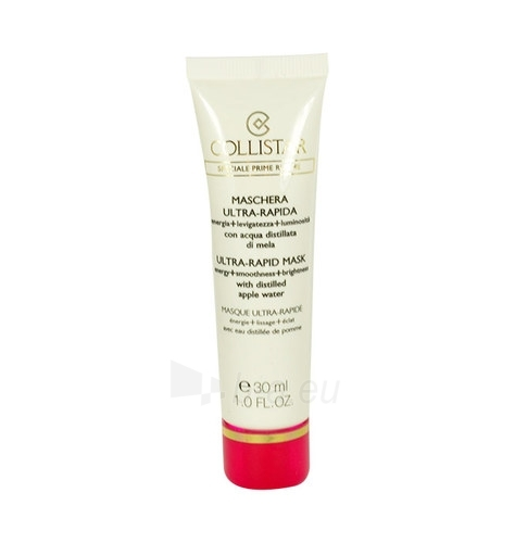 Maska Collistar Ultra-Rapid Mask Cosmetic 30ml Paveikslėlis 1 iš 1 250840501012