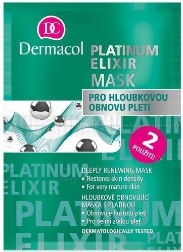 Kaukė Dermacol Platinum Elixir Mask Cosmetic 16ml Paveikslėlis 1 iš 1 250840500077