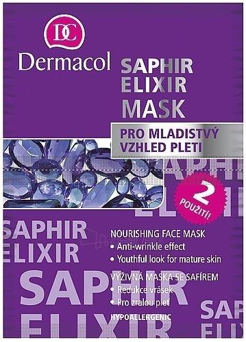 Maska Dermacol Saphir Elixir Mask Cosmetic 16ml Paveikslėlis 1 iš 1 250840500078