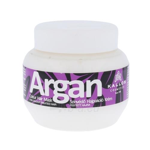 Kallos Argan Colour Hair Mask Cosmetic 275ml Paveikslėlis 1 iš 1 2508316000122