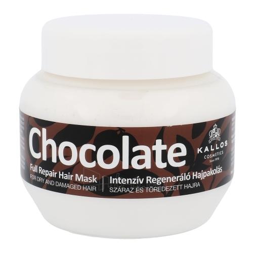 Kallos Chocolate Full Repair Hair Mask Cosmetic 275ml Paveikslėlis 1 iš 1 2508316000326