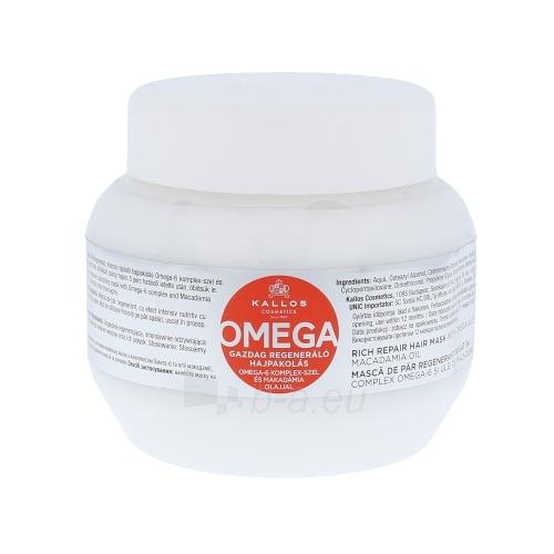 Kaukė plaukams Kallos Omega Hair Mask Cosmetic 275ml Paveikslėlis 1 iš 1 2508316000421