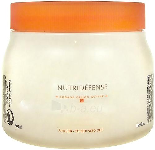 Kaukė plaukams Kerastase Nutritive Nutridéfense 2 Dry and Sensitised Hair Cosmetic 200ml Paveikslėlis 1 iš 1 2508316000024