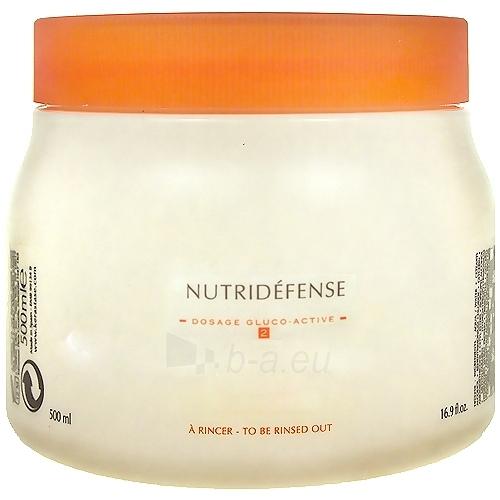 Kaukė plaukams Kerastase Nutritive Nutridéfense 2 Dry and Sensitised Hair Cosmetic 500ml Paveikslėlis 1 iš 1 2508316000025