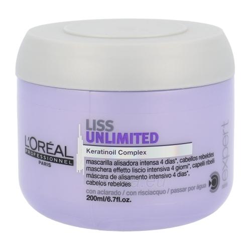 Kaukė plaukams L´Oreal Paris Expert Liss Unlimited Mask Cosmetic 200ml Paveikslėlis 1 iš 1 2508316000256