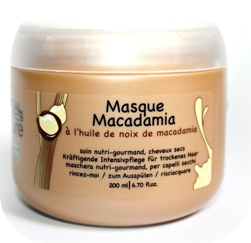 Kaukė plaukams L´Oreal Paris Expert Nature Macadamia Masc Cosmetic 200ml Paveikslėlis 1 iš 1 2508316000071