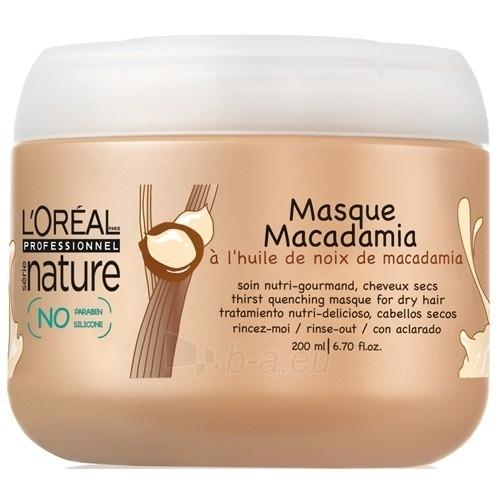 Kaukė plaukams L´Oreal Paris Expert Nature Macadamia Masc Cosmetic 500ml Paveikslėlis 1 iš 1 2508316000112